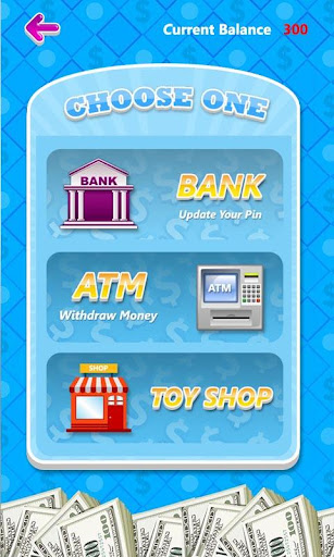 ATM Learning Simulator Free for Money and Bank screenshot