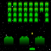 Invaders - Retro Arcade Space Shooter