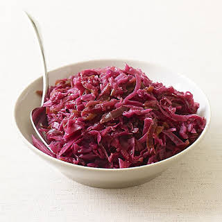 Braised Red Cabbage and Apples.
