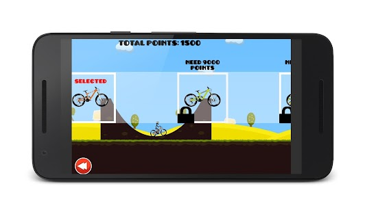 2D Hill Bicycle Climb Racing - náhled