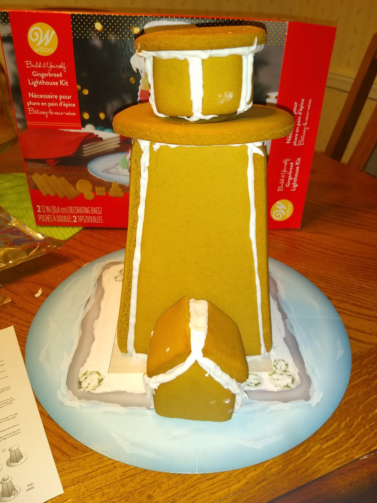 gingerbread lighthouse building