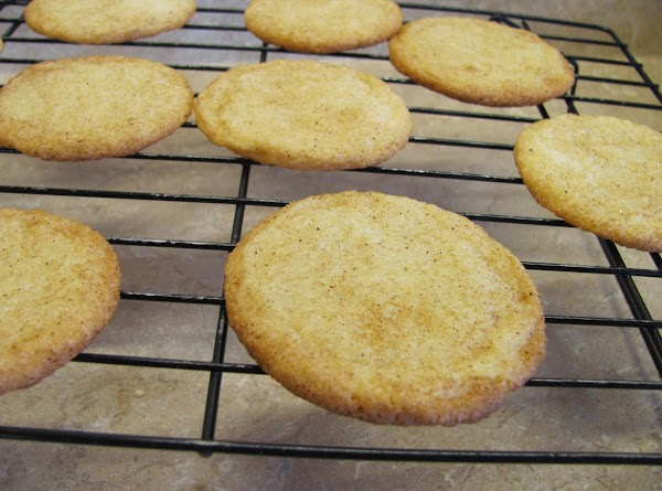 Cool cookies on cooling rack.