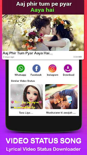 4Fun Video Status App Report on Mobile Action - App Store