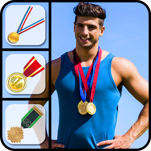 Medal Stickers Photo Editor