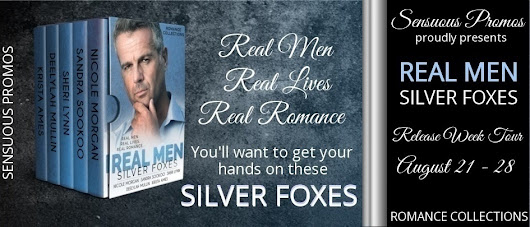 #NewReleaseAlert from @RomanceBoxedSet - REAL MEN (Silver Foxes) #SilverFox #99cents #boxedset #romance