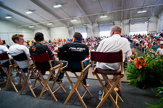 Photo: The drivers forum. Do you have any questions for our team?