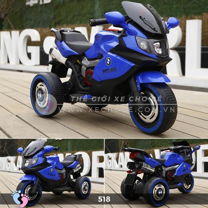 Xe mô tô điện thể thao cho bé 518 5
