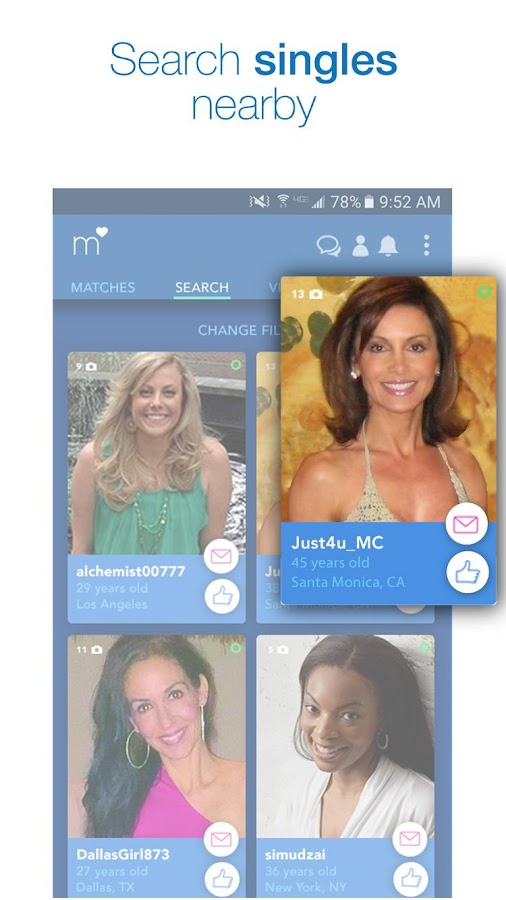 match search singles free