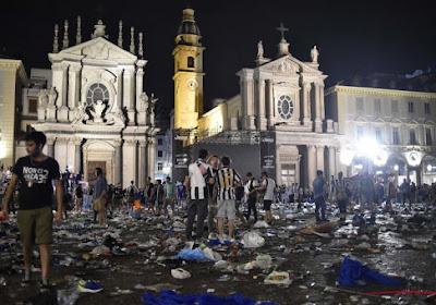 Un grand nombre de blessés après un mouvement de panique à Turin