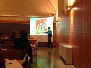 """Photo: """"Didàctica en l'art"""", a càrrec d'Anna Guarro, cap del Departament de Serveis Educatius i Activitats del Museu Picasso"""