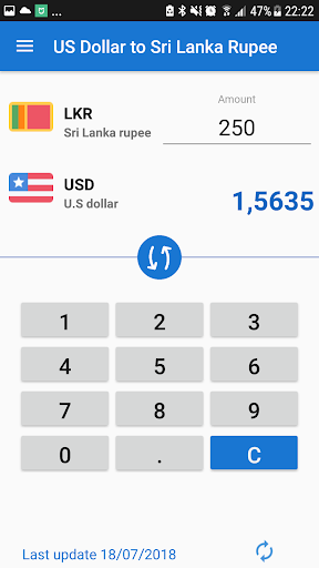 Us Dollar Sri Lanka Ru Usd To Lkr Converter Screenshot 1