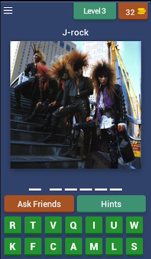J-Rock Visual kei Quiz 7.4.3z screenshots 2