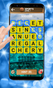 Word puzzle - Offline Word Game Screenshot