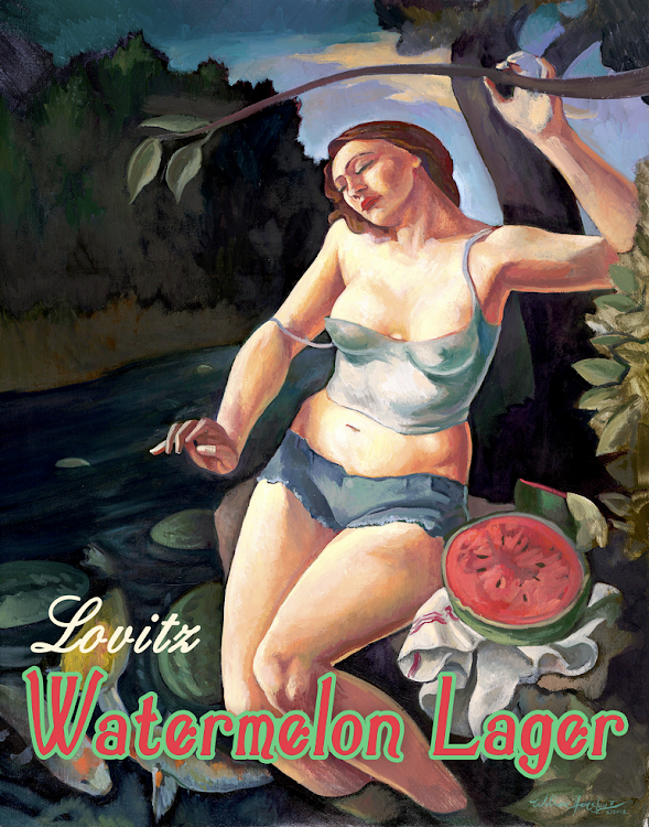 Logo of Roy Pitz Lovitz Watermelon Lager