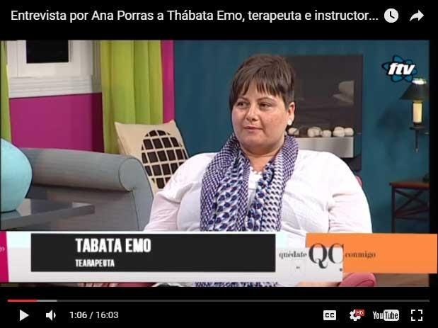 Resultado de imagen de entrevista a thabata emo thetahealing ana todoterapias