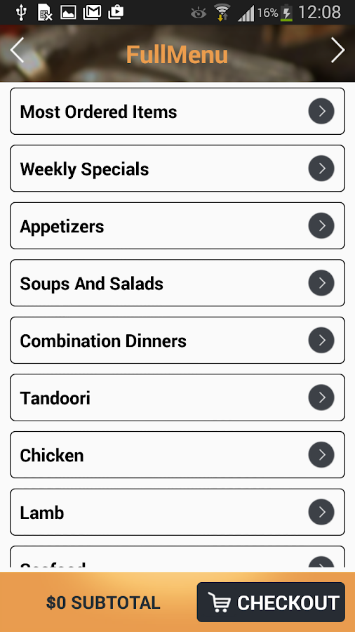 India's Tandoori Brentwood- screenshot