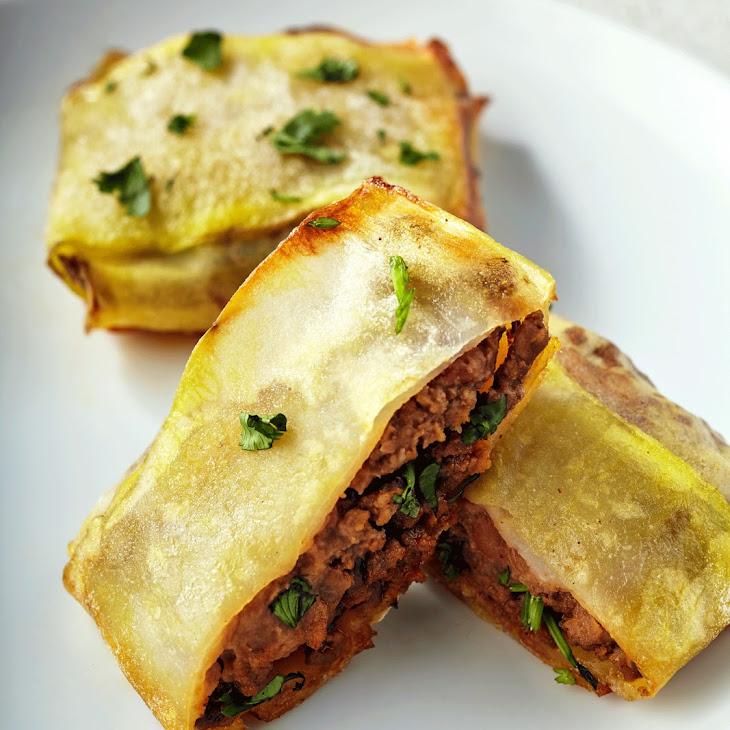 Beef & Bean Burrito Recipe