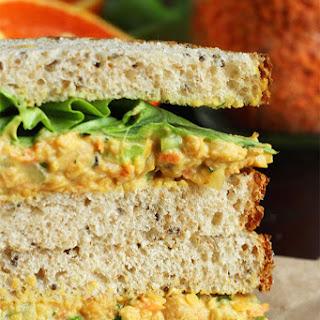 """Lentil + Chickpea Salad Sandwiches {a.k.a. Vegan """"Egg"""" Salad Sandwiches}"""