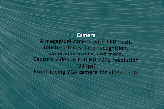 Photo: Some of the Camera features of the Photon