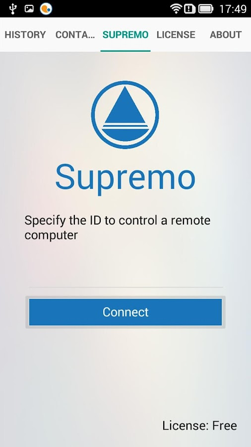 Supremo Remote Desktop- screenshot