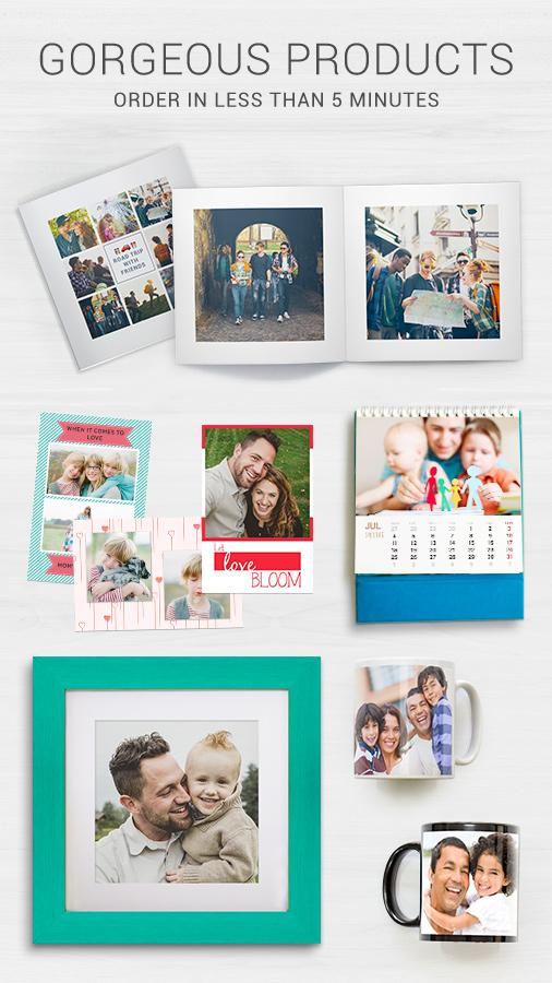 ZoomIn: Photo Gifts and Books- screenshot
