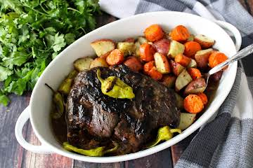 Slow Cooker Mississippi Roast