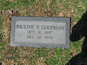 Photo: Goodman, Pauline V.