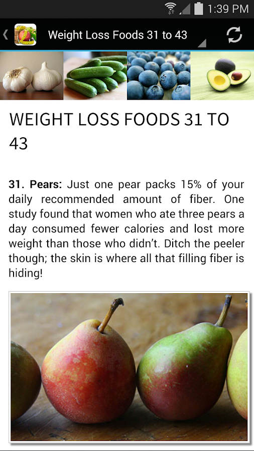 43 Best Foods for Weight Loss- screenshot