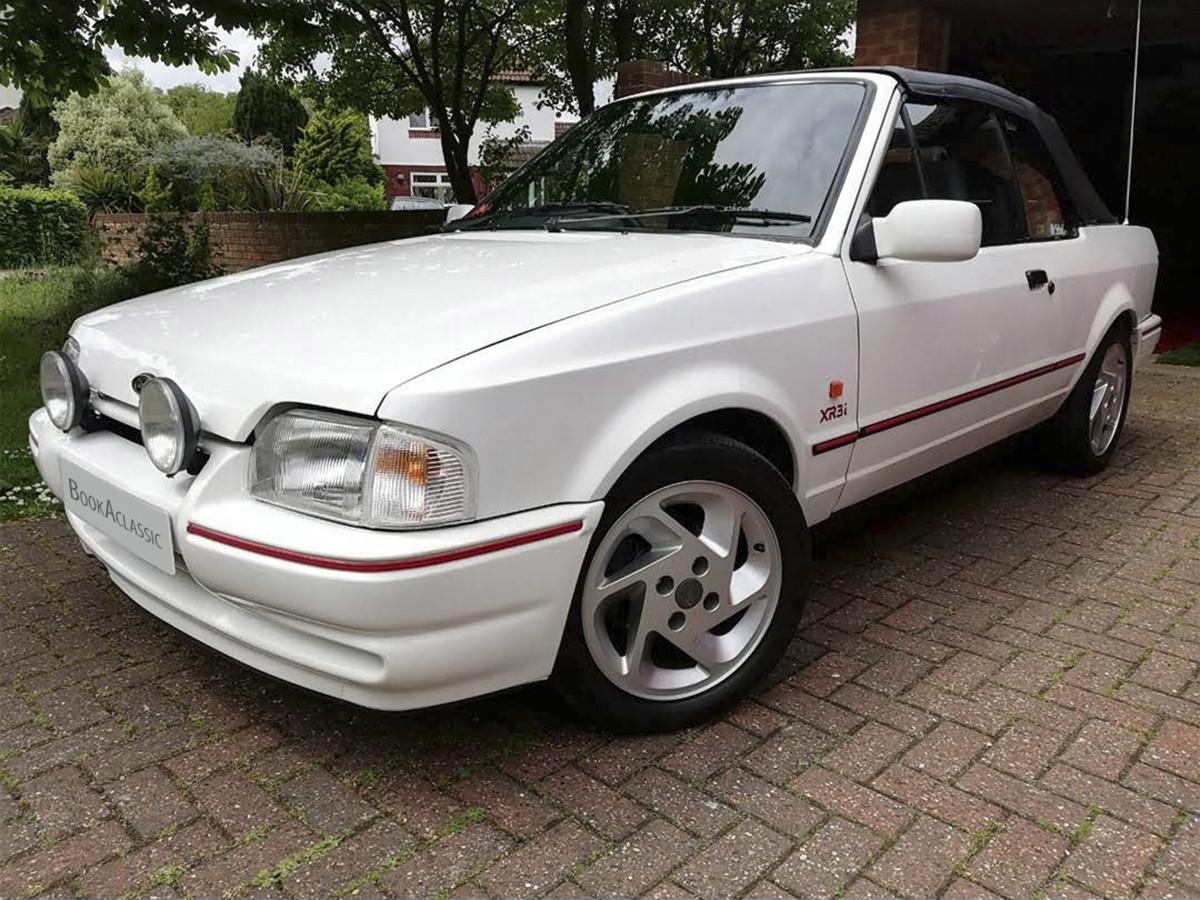 Ford  Escort Xr3i Cabriolet Hire Peterborough
