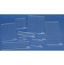 Tim Holtz Acrylic Grid Block Set - 9 Pieces