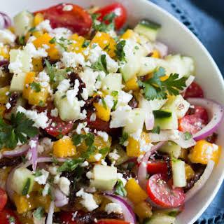 Easy Mediterranean Salad.