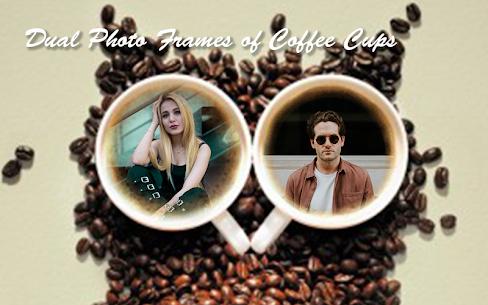 Coffee Cup Dual Photo Frames 2019 2