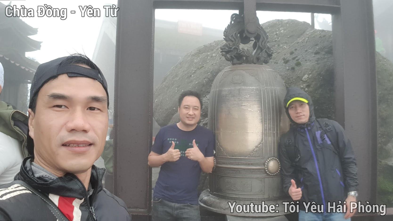 Gió quá to tại Chùa Đồng khi leo núi Yên Tử quảng ninh 5