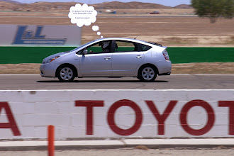 Photo: Prius racing at its finest!