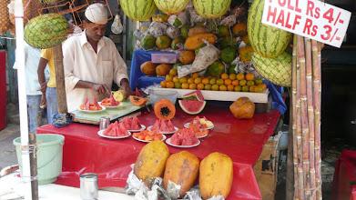 Photo: Fresh Fruit Sliced Mumbai India