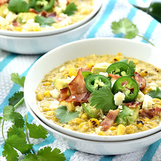 Slow Cooker Mexican Street Corn Chowder.