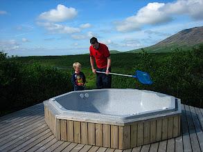Photo: Potturinn þrifinn