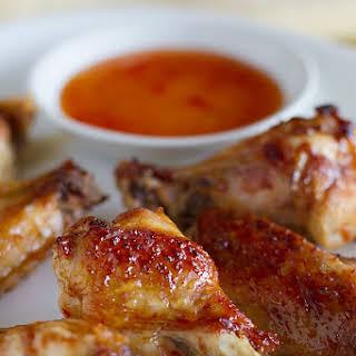 Sweet Thai Chicken Wings.
