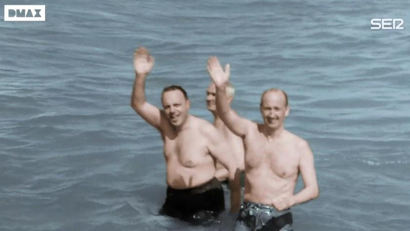 Imagen del baño en Palomares en uno de los episodios.