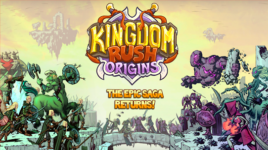Kingdom Rush Origins MOD APk (Unlimited Gems/Unlocked Heros) 1
