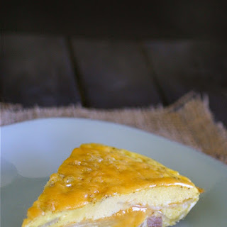 Ham and Cheese Frittata.