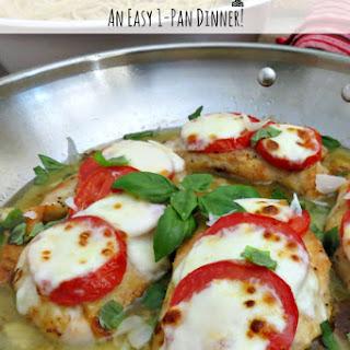 Chicken Caprese Recipe   An Easy One-Pan Dinner!