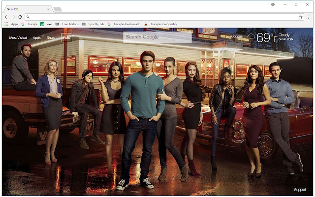 Riverdale HD Wallpapers TV Shows New Tab
