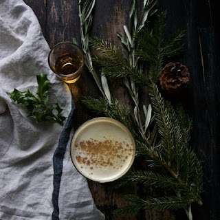 Smoky Irish Eggnog
