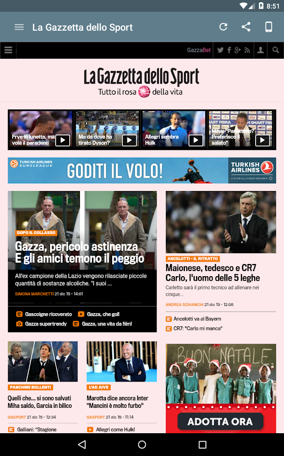 Quotidiani Italiani- screenshot