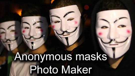 Anonymous Mask Photo Editor Free 7