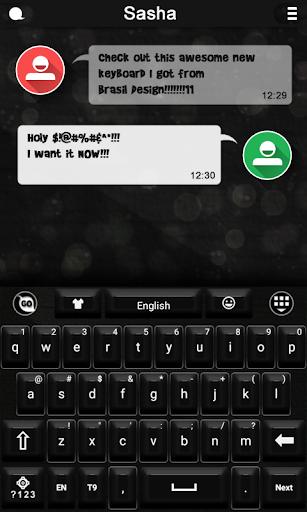 QWERTY keyboard theme