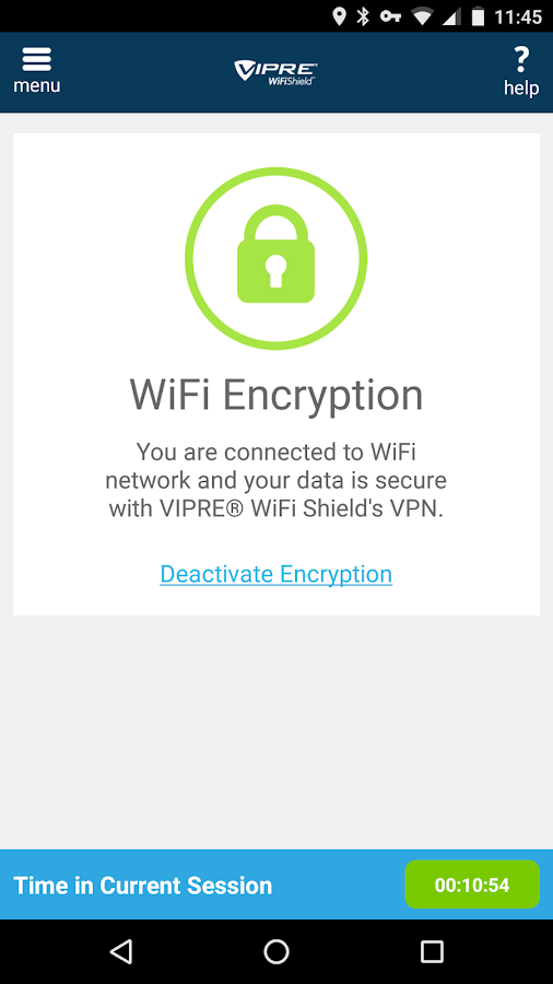VIPRE® WiFi Shield™- screenshot