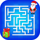 Kids Maze : Educational Puzzle Christmas Fun
