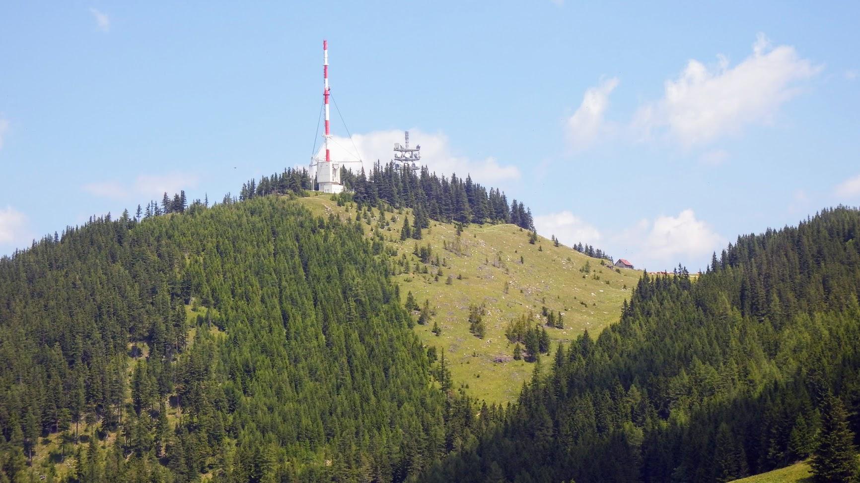 Semmering/Sonnwendstein - TV-URH gerincadó állomás